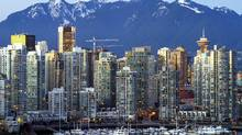 The Vancouver skyline with its spectacular mountains in the background. (Albert Normandin/Albert Normandin/AP)