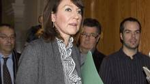 Court documents shows the police anti-corruption squad was mainly interested in a fundraiser in a Quebec City restaurant featuring former deputy premier Nathalie Normandeau on Oct. 9, 2008. (Jacques Boissinot/The Canadian Press)