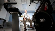 Dr. Benjamin Goldstein is studying the benefits of regular aerobic exercise for people with bipolar disorder. (Tim Fraser)