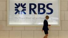 Britain's 'big five' lenders – Royal Bank of Scotland, HSBC, Barclays, Lloyds and Santander – hold 83 per cent of retail accounts. (LUKE MacGREGOR/REUTERS)