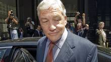 Conrad Black leaves after his bail hearing at Federal Court Friday July 23, 2010, in Chicago. (Ryan Remiorz)