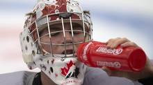 Team Canada goaltender Jake Paterson will make his second straight start in goal for Canada (Frank Gunn/THE CANADIAN PRESS)