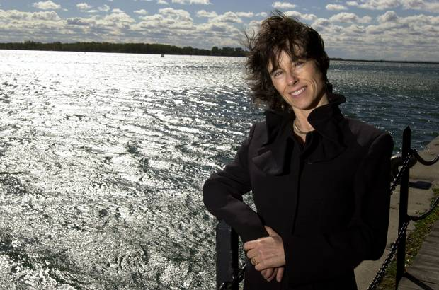 Environmental lawyer Dianne Saxe alongside Lake Ontario in this 2003 file photo.