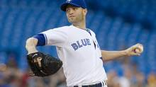 Toronto Blue Jays starting pitcher J.A. Happ (Chris Young/THE CANADIAN PRESS)