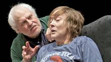Denise Clarke and John Murrell in One Yellow Rabbit's production of Taking Shakespeare. (Benjamin Laird/Benjamin Laird)