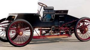 Original 1901 Sweepstakes race car: In 1901, Henry Ford - a virtual unknown at the time - drove in his first and only race behind the wheel of this vehicle, which he nicknamed Sweepstakes.