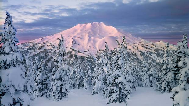Mount Bachelor in southwestern Oregon has become the fifth-largest U.S. ski area, and the new Cloudchaser chair adds 257 hectares of mostly advanced trails that were previously accessible only by hiking.