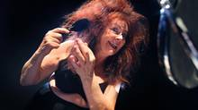 Comedian Mary Walsh in her one-woman show Dancing with Rage. (THE CANADIAN PRESS/HO Mirvish Productions)