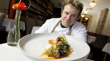 Matt Kantor was a caterer and private chef before starting up Bero with his partners. (Peter Power/The Globe and Mail)