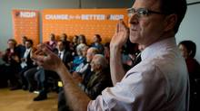 Although Adrian Dix's imprimatur is prominent, the letters were sent out by the NDP's provincial secretary. (DARRYL DYCK/THE CANADIAN PRESS)