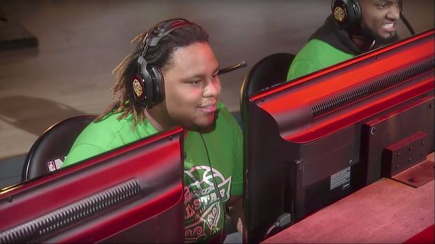 Boyd, who is widely considered one of the world's best players, sees the NBA 2K League as a chance to make a living player his favourite video game.