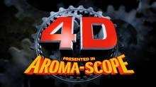 "Aroma-Scope will bring scratch-and-sniff odors to ""Spy Kids: All the Time in the World,"" Robert Rodriguez's 4-D entry in the franchise. (handout)"