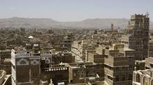 High-rise tower-houses made of rammed earth in Sana'a, Yemen, are one indication of the infinite resourcefulness of city-dwellers. (Rex Features/Rex Feature Ltd.)