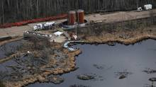 Alberta has been accused of poor transparency and foot-dragging over incidents such as the Rainbow Pipeline spill in 2011. (Ian Jackson/THE CANADIAN PRESS)