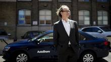 AutoShare president Kevin McLaughlin has said that increased urban density benefits his company but has also prompted more rivals. (Michelle Siu/The Globe and Mail)