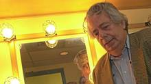 Mordecai Richler waits in the wings of the Premier Theatre for his roast as part of the authors week, Oct. 18, 2000. (Peter tym/Peter Tym / Globe and Mail)