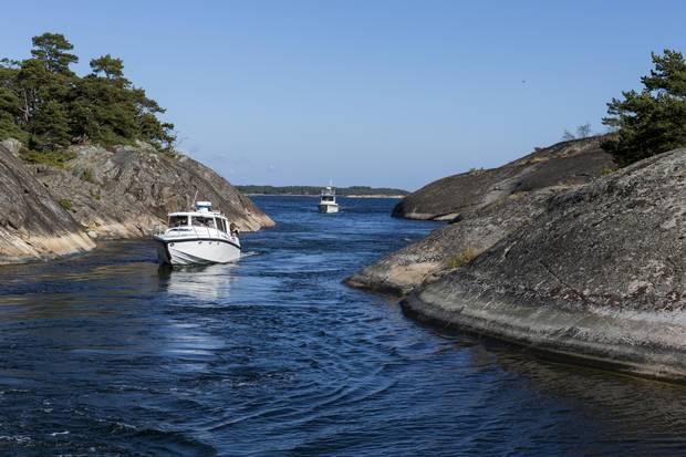 Swedish Summer. Archipelago -- Stockholm archipelago. Credits: