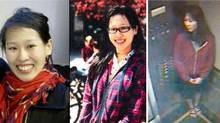 Elisa Lam of Vancouver is seen in various photos released by the Los Angeles Police Department.