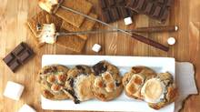 A twist on tradition: s'mores cookies.