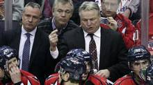 Washington Capitals coach Dale Hunter
