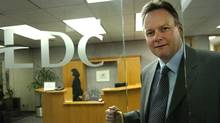 EDC views its role as 'filling cracks,' as chief executive officer Stephen Poloz, seen here, puts it. But its mere presence may encourage Canada's notoriously risk-averse banks to be even more conservative. (Deborah Baic/The Globe and Mail/Deborah Baic/The Globe and Mail)