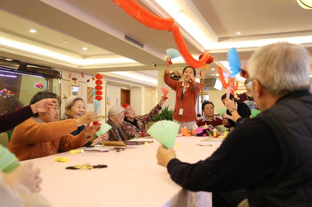 The private facility is expensive, but one of the few places in China willing to care for people with dementia.