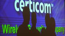 Annual meeting for Certicom Corp. held at the TSE Conference Centre. (Louie Palu/The Globe and Mail)