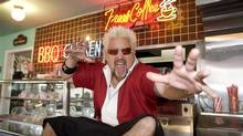 Guy Fieri on Food Network's Diners, Drive-Ins and Dives.