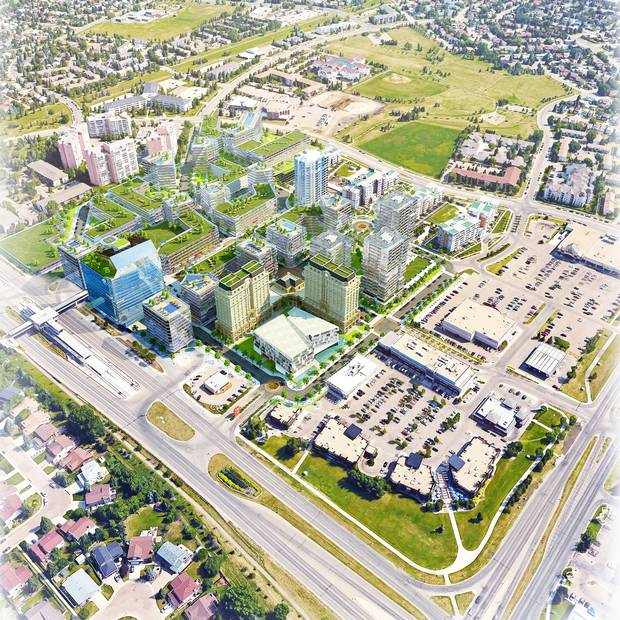 Century Park, Edmonton. Main plan.