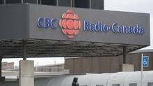 The CBC/Radio-Canada building in Montreal. (GRAHAM HUGHES/THE CANADIAN PRESS)