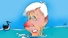 Bob Rae on learning to swim (Anthony Jenkins/The Globe and Mail)