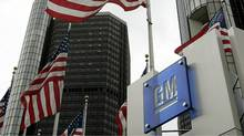 GM's global headquarters in Detroit. (JEFF HAYNES/Jeff Haynes/AFP/Getty Images)