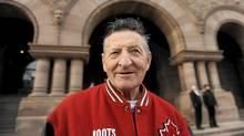 Walter Gretzky is photographed outside the Legislature at Queens Park on March 6 2012. (Fred Lum/The Globe and Mail/Fred Lum/The Globe and Mail)