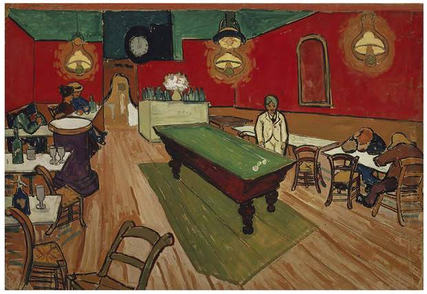 Vincent Van Gogh's Arles period included works like The Night Cafe (September, 1888; pencil, watercolour and gouache) ...