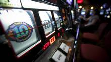 Slot machines at the River Rock Casino in Richmond, B.C. June 11, 2009. (John Lehmann/The Globe and Mail/John Lehmann/The Globe and Mail)