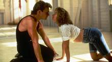 "Patrick Swayze (R) and Jennifer Grey are shown in a scene from the 1987 film ""Dirty Dancing"" in this publicity photo for Lionsgate Home Entertainmentês Dirty Dancing 20th Anniversary Edition."
