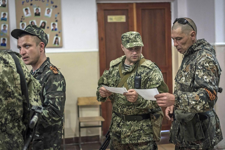 In Ukraine, sovereignty referendums turn violent