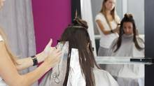 A new study suggests hairdressers who use light-coloured hair dyes or hair-waving products have more carcinogenic compounds in their blood. (BakiBG/Getty Images/iStockphoto)