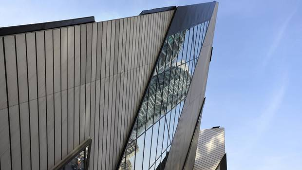 The Michael Lee-Chin Crystal at the Royal Ontario Museum opened in 2007.