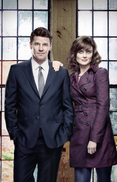 "DRAMA Bones (Fox, Global, 8 p.m.) Still the sturdiest show on Fox's lineup, Bones continues to pull in new viewers in its eighth season by steadily advancing the relationship betweenthe central characters of FBI agent Booth (David Boreanaz) and forensics whiz Dr. Temperance ""Bones"" Brennan (Emily Deschanel). Why, last season they even had a baby together! Tonight's season the new parents are alarmed by the reappearance of the hacker/killer Pelant (Andrew Leeds), who announces his return by brutally murdering a Special Forces agent. The investigation takes an unexpected twist when Booth discovers the victim was also working for an infamous mercenary supplier."