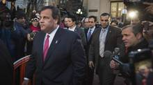 Mr. Christie's larger-than-life New Jersey persona now comes with an asterisk. (LUCAS JACKSON/REUTERS)