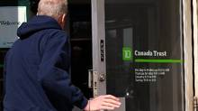 File photo of a TD Canada Trust location in Toronto. (Deborah Baic/The Globe and Mail)