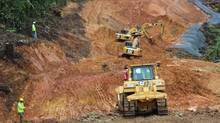 Inmet's Cobre Panama mine site. (Handout)