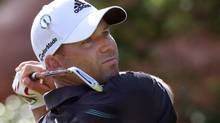 Sergio Garcia opened the British Open with a 4-under 68, two strokes behind first-round leader Rory McIlroy, and still in search of that elusive first win in a major.