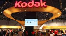 A view of the Kodak booth is seen during the 2012 International Consumer Electronics Show (CES) in Las Vegas, Nevada, Jan. 11, 2012. (STEVE MARCUS/STEVE MARCUS/REUTERS)