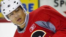 Calgary Flames' captain Jarome Iginla is entering the last year of his contract. FILE PHOTO: THE GLOBE AND MAIL/Jeff McIntosh (Jeff McIntosh/The Globe and Mail)