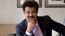 Indian actor Anil Kapoor in Toronto on June 22, 2011: He's here for the International Indian Film Academy awards. (Chris Young/CP)