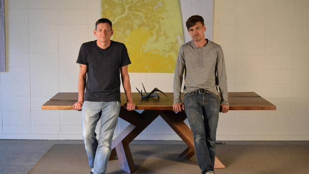 Jerad Mack and Shane Pawluk met while working on a construction project in Cuba, and decided to give furniture making a go despite not having any formal training in design.