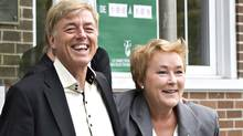 Parti Quebecois Leader Pauline Marois and her husband Claude Blanchet are pictured in Beaupre, Que., on September 4, 2012. (Jacques Boissinot/THE CANADIAN PRESS)