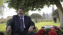 Egyptian President Mohammed Morsi. (Tara Todras-Whitehill For The Globe And Mail)